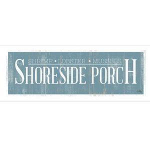 Shoreside Porch Wall Sign